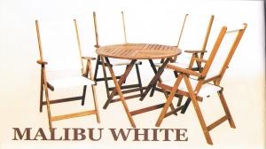 Zahradní souprava MIAMI WHITE