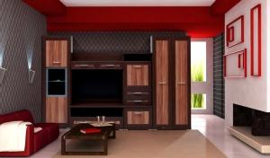 Obývací stěna HAWANA