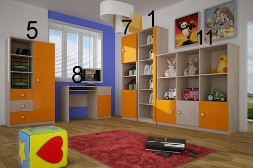 Dětský pokoj DAN